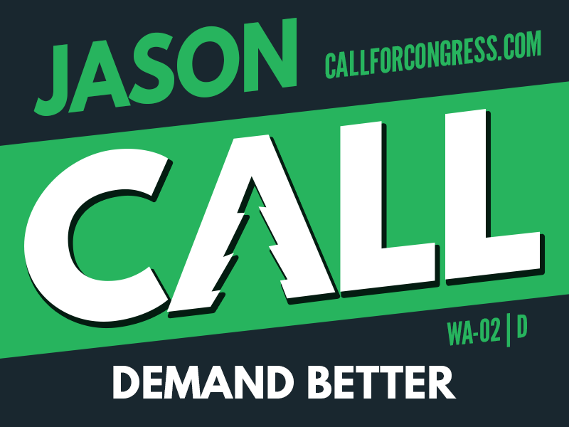 Jason Call for Congress Logo